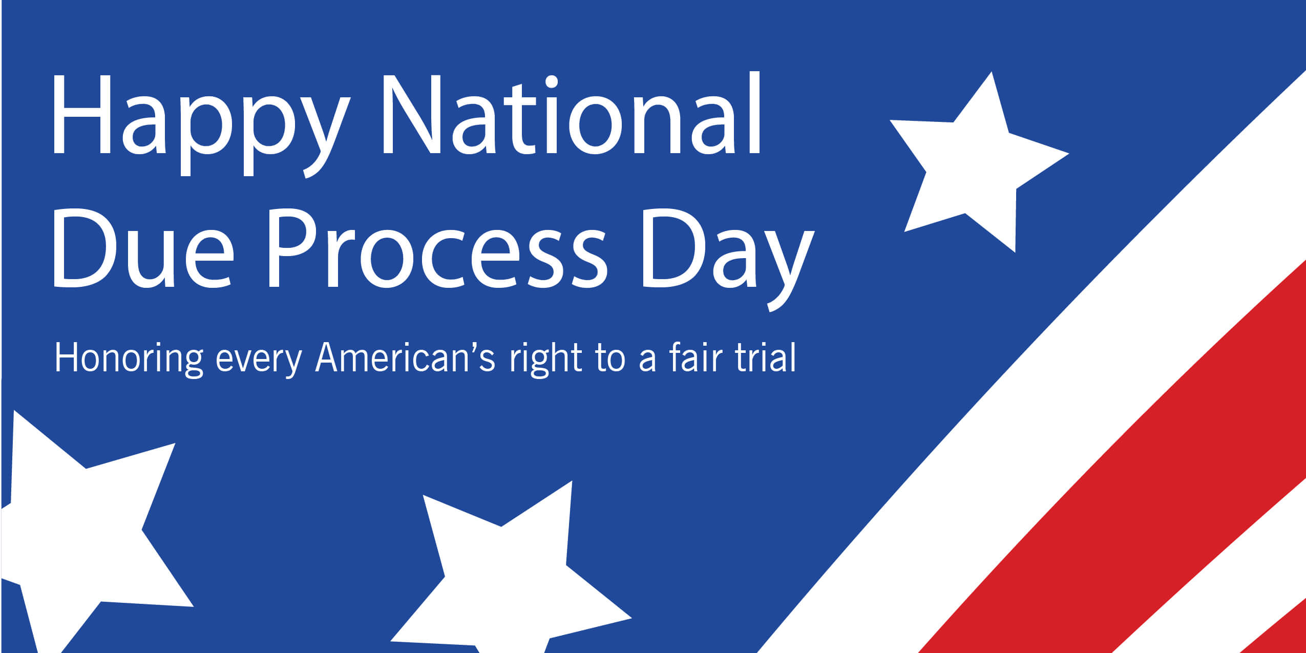 National Due Process Day