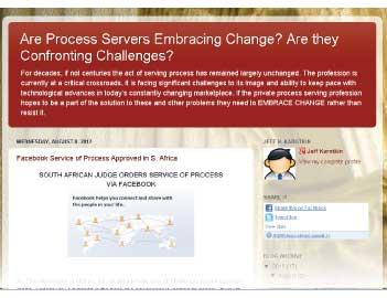 ServiceofProcesLookingForward