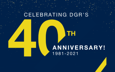 DGR Celebrates 40 Years of Excellence